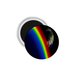 Rainbow Earth Outer Space Fantasy Carmen Image 1.75  Magnets