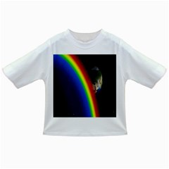 Rainbow Earth Outer Space Fantasy Carmen Image Infant/Toddler T-Shirts