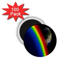 Rainbow Earth Outer Space Fantasy Carmen Image 1 75  Magnets (100 Pack)