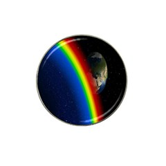 Rainbow Earth Outer Space Fantasy Carmen Image Hat Clip Ball Marker