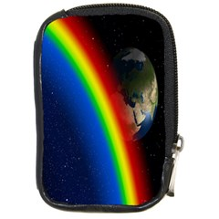 Rainbow Earth Outer Space Fantasy Carmen Image Compact Camera Cases