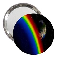 Rainbow Earth Outer Space Fantasy Carmen Image 3  Handbag Mirrors