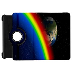 Rainbow Earth Outer Space Fantasy Carmen Image Kindle Fire HD 7