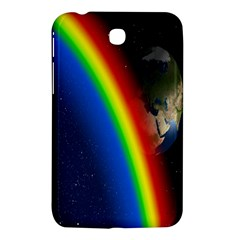Rainbow Earth Outer Space Fantasy Carmen Image Samsung Galaxy Tab 3 (7 ) P3200 Hardshell Case