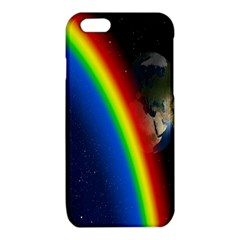 Rainbow Earth Outer Space Fantasy Carmen Image iPhone 6/6S TPU Case