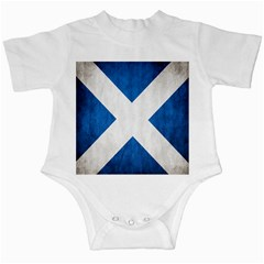 Scotland Flag Surface Texture Color Symbolism Infant Creepers