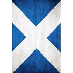 Scotland Flag Surface Texture Color Symbolism 5.5  x 8.5  Notebooks