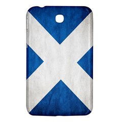 Scotland Flag Surface Texture Color Symbolism Samsung Galaxy Tab 3 (7 ) P3200 Hardshell Case