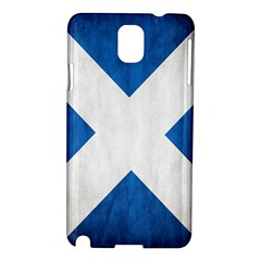 Scotland Flag Surface Texture Color Symbolism Samsung Galaxy Note 3 N9005 Hardshell Case