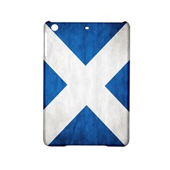 Scotland Flag Surface Texture Color Symbolism iPad Mini 2 Hardshell Cases