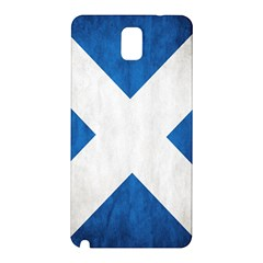 Scotland Flag Surface Texture Color Symbolism Samsung Galaxy Note 3 N9005 Hardshell Back Case