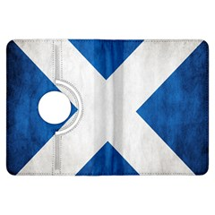 Scotland Flag Surface Texture Color Symbolism Kindle Fire HDX Flip 360 Case