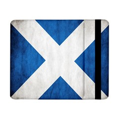 Scotland Flag Surface Texture Color Symbolism Samsung Galaxy Tab Pro 8 4  Flip Case