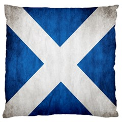Scotland Flag Surface Texture Color Symbolism Standard Flano Cushion Case (Two Sides)