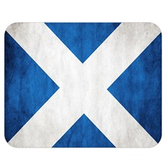 Scotland Flag Surface Texture Color Symbolism Double Sided Flano Blanket (Medium)