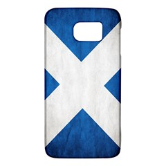Scotland Flag Surface Texture Color Symbolism Galaxy S6