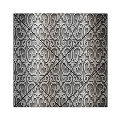Patterns Wavy Background Texture Metal Silver Acrylic Tangram Puzzle (6  x 6 )