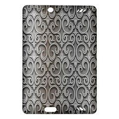 Patterns Wavy Background Texture Metal Silver Amazon Kindle Fire HD (2013) Hardshell Case