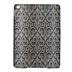 Patterns Wavy Background Texture Metal Silver iPad Air 2 Hardshell Cases