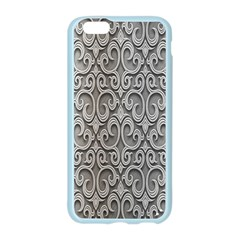 Patterns Wavy Background Texture Metal Silver Apple Seamless iPhone 6/6S Case (Color)