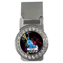 Sneakers Shoes Patterns Bright Money Clips (CZ)