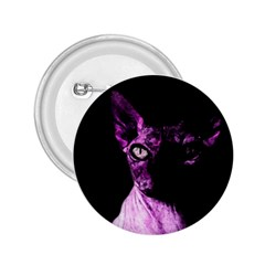 Pink Sphynx cat 2.25  Buttons