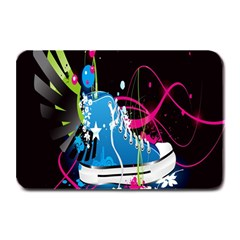 Sneakers Shoes Patterns Bright Plate Mats