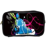 Sneakers Shoes Patterns Bright Toiletries Bags 2-Side Back