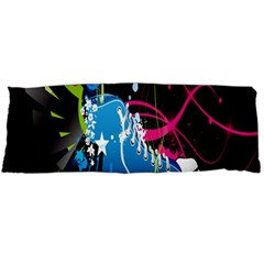 Sneakers Shoes Patterns Bright Body Pillow Case Dakimakura (two Sides)