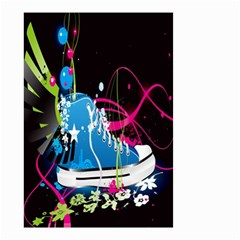Sneakers Shoes Patterns Bright Small Garden Flag (Two Sides)