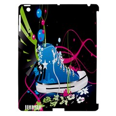 Sneakers Shoes Patterns Bright Apple iPad 3/4 Hardshell Case (Compatible with Smart Cover)