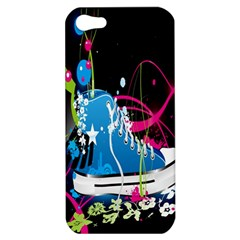 Sneakers Shoes Patterns Bright Apple iPhone 5 Hardshell Case