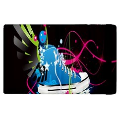 Sneakers Shoes Patterns Bright Apple iPad 3/4 Flip Case