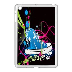 Sneakers Shoes Patterns Bright Apple Ipad Mini Case (white)