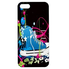 Sneakers Shoes Patterns Bright Apple iPhone 5 Hardshell Case with Stand