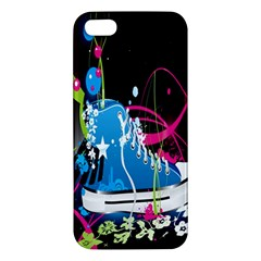Sneakers Shoes Patterns Bright Apple iPhone 5 Premium Hardshell Case