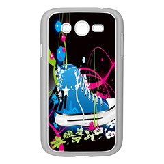 Sneakers Shoes Patterns Bright Samsung Galaxy Grand DUOS I9082 Case (White)