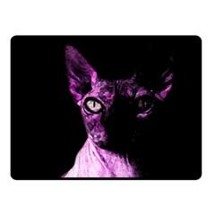 Pink Sphynx cat Fleece Blanket (Small)