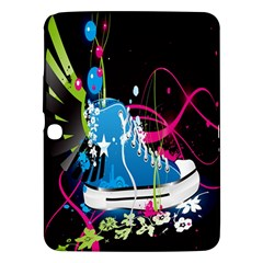 Sneakers Shoes Patterns Bright Samsung Galaxy Tab 3 (10 1 ) P5200 Hardshell Case