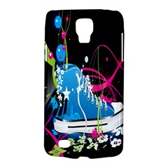 Sneakers Shoes Patterns Bright Galaxy S4 Active