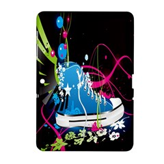 Sneakers Shoes Patterns Bright Samsung Galaxy Tab 2 (10.1 ) P5100 Hardshell Case