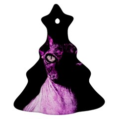 Pink Sphynx cat Ornament (Christmas Tree)