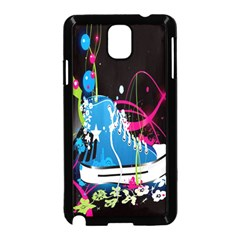 Sneakers Shoes Patterns Bright Samsung Galaxy Note 3 Neo Hardshell Case (black)