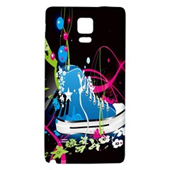 Sneakers Shoes Patterns Bright Galaxy Note 4 Back Case