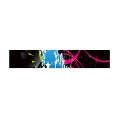 Sneakers Shoes Patterns Bright Flano Scarf (Mini)