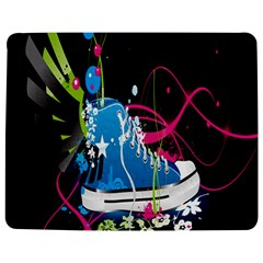 Sneakers Shoes Patterns Bright Jigsaw Puzzle Photo Stand (rectangular)
