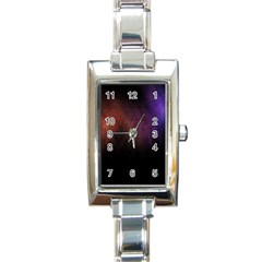 Point Light Luster Surface Rectangle Italian Charm Watch