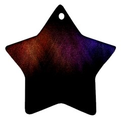 Point Light Luster Surface Ornament (star)