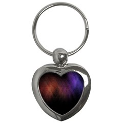 Point Light Luster Surface Key Chains (Heart)