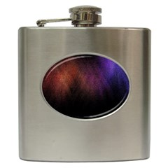 Point Light Luster Surface Hip Flask (6 oz)